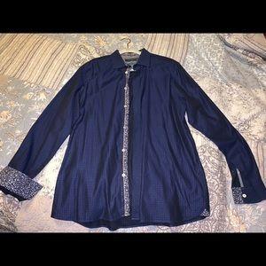 Ted Baker modern fit dress shirt Size 16.5